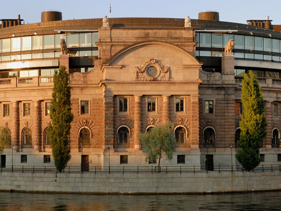 Riksdagshuset i Stockholm. Foto: Peter Haas / CC BY-SA 3.0